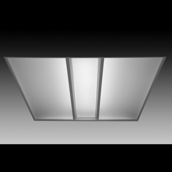 Image 1 of Focal Point Lighting FVR22 Veer 2x2 Architectural Recessed Fluorescent Fixture