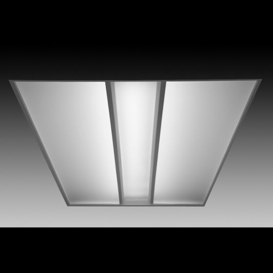 Image 1 of Focal Point Lighting FVR24 Veer 2x4 Architectural Recessed Fluorescent Fixture