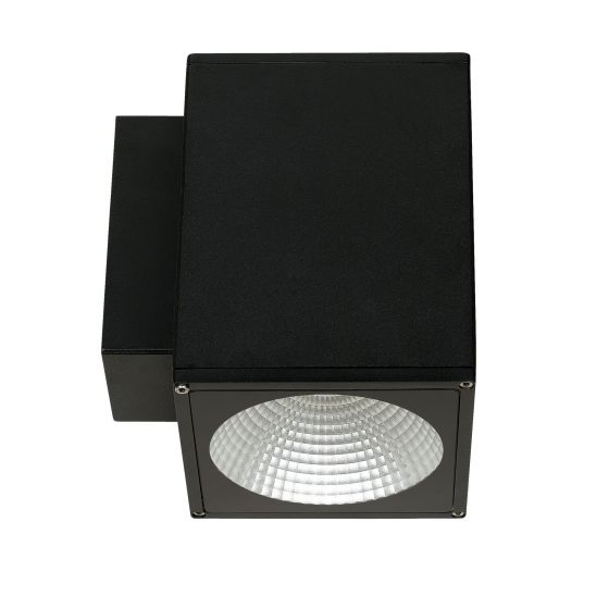 Alcon Lighting 11220-TF Vela Turtle Friendly Architectural LED 6 Inch Square 1-Direction Wall Mount Light Fixture