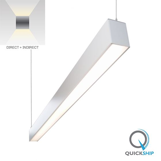 Alcon Lighting 22180 Lineo Architectural LED Suspended Linear Direct/Indirect Light Fixture