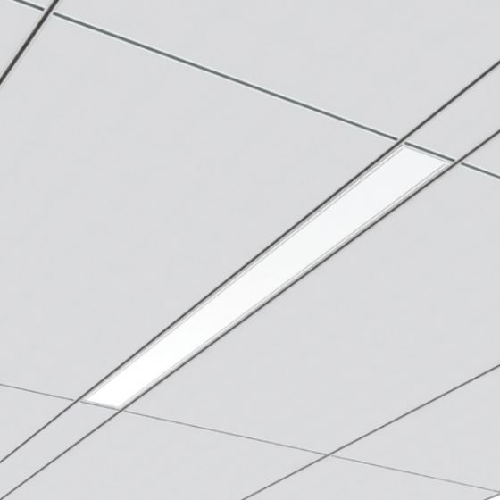 Image 1 of Cooper 23DR Straight and Narrow LED Recessed Light Fixture