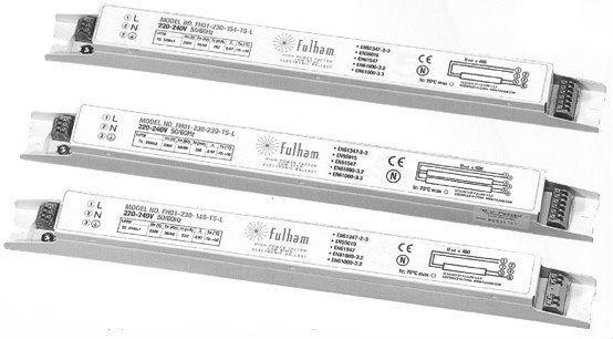 Fluorescent T5 Ballast 14-35W 1/2 Lamps.