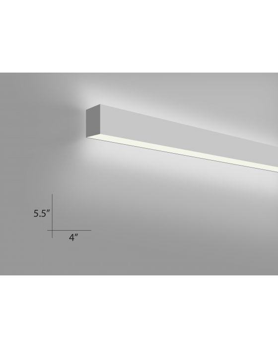 Wall light fixtures indoor mounted led lights alcon lighting alcon lighting 12100 45 w 8 continuum 45 series architectural led 8 foot aloadofball Choice Image