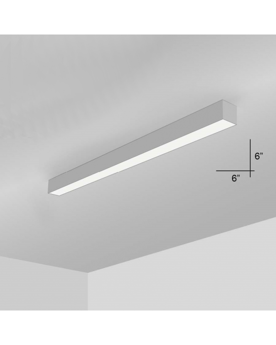 Alcon Lighting 12100 66 S 4 Continuum Series Architectural Led Linear Surface