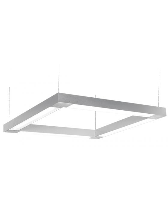 Deco Lighting CUBE-LED Linear Suspended Pendant Light Fixture – Commercial / Architectural Office Lighting Applications