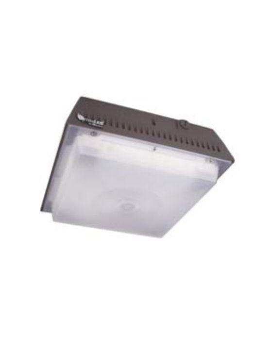 MaxLite CP40AUTC50B 39 Watt LED Parking Garage Canopy Fixture - 4,290 Lumens