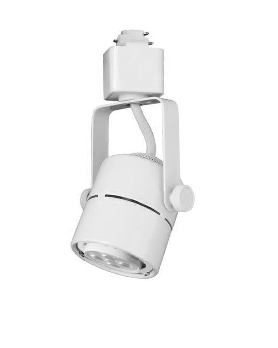 Alcon Lighting Mini Cylinder 13110 Adjustable Swivel Head LED Track ...