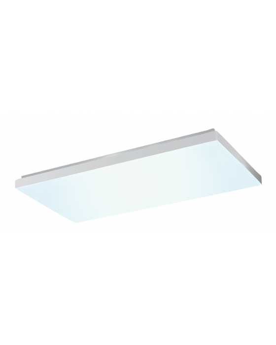 Alcon Lighting 11109-13 Sleek Architectural Contemporary LED 4 Foot Regressed Surface Mount Direct Down Light Wraparound Fixture