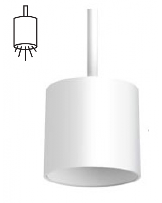 modern pendant light fixtures panel simple. Alcon Lighting 12302-P Cilindro I Architectural LED Small Modern Cylinder  Pendant Mount Direct Light Modern Pendant Light Fixtures Panel Simple
