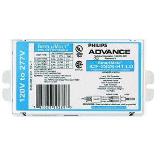 Philips Advance ICF-2S26-H1-LD SmartMate Advance IntelliVolt Ballast