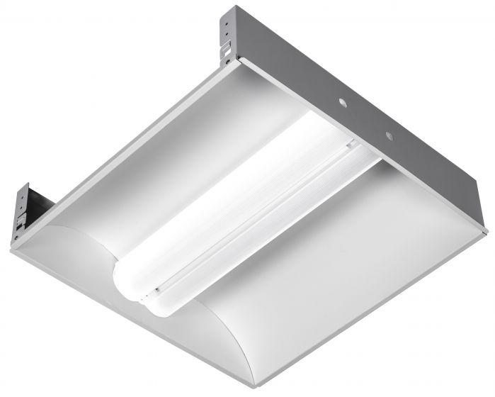 Alcon Lighting 14032 Aces Architectural LED 2x2 Recessed Center Basket Ribbed Direct Light Troffer