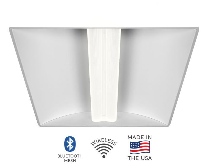 Alcon Lighting 14032 Aces Architectural LED Recessed Center Basket Ribbed Direct Light Troffer