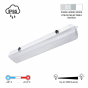 Image 2 of Alcon 11104 Color Temperature-Selectable Vaportite Linear LED Light