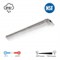 Image 2 of Alcon Remy 11173 Linear Low-Profile Vaportite Wet-location LED Light