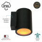 Image 2 of Alcon 11218-TF-R Pavo Turtle Friendly LED 6 Inch Cylinder Wall Light