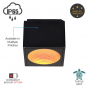 Image 2 of Alcon 11224-TF-S Pavo Turtle Friendly LED 6 Inch Square Ceiling Light