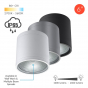 Image 2 of Alcon 11236-DIR Pavo Architectural LED 6 Inch Cylinder Ceiling Light
