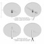 Image 5 of Alcon 12100-40-P Linear Pendant-Mount LED Light