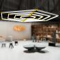 Image 4 of Alcon 12100-23-HX Architectural Hexagon LED Pendant Light