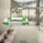 Image 1 of Alcon 12100-23-SQ Architectural Square LED Pendant Light