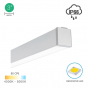 Image 2 of Alcon 12100-35-S Wet-Location, Surface-Mounted Linear Outdoor LED Ceiling Light