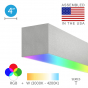 Image 2 of Alcon 12100-40-RGBW-S Linear Surface Color-Changing LED Light