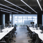 Image 6 of Alcon 12100-45-P Linear Commercial-Grade LED Pendant