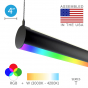Image 2 of Alcon 12100-R4-RGBW-P LED Color-Tunable Tube Pendant Light