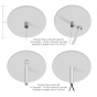 Image 5 of Alcon 12101-20-P Linear LED Pendant Light With Sound Absorbing Acoustics