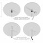 Image 3 of Alcon 12184 Chela Commercial-Grade Linear LED Pendant Light Strip