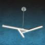 Image 1 of Alcon 12141 LED 3-Light Semi-Flush Pendant Light