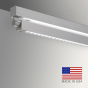 Image 2 of Alcon 12160-S-LDI Adjustable Louvered Surface-Mount Linear LED Light