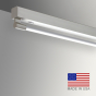 Image 2 of Alcon Gladstone 12160-S Architectural Linear Surface-Mounted LED Light