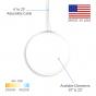 Image 2 of Alcon 12216 Luna Suspended Glass Globe Cable Pendant