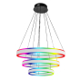 Image 1 of Alcon 12270-3-RGBW Redondo Suspended Architectural LED 3 Tier Ring Chandelier