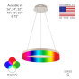 Image 2 of Alcon 12272-1-RGBW Redondo Architectural LED 1 Tier Ring Chandelier