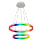 Image 1 of Alcon 12272-2-RGBW Redondo Architectural LED 2 Tier Ring Chandelier