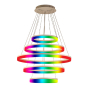 Image 1 of Alcon 12272-5-RGBW Redondo Architectural LED 5 Tier Ring Chandelier