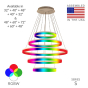 Image 2 of Alcon 12272-5-RGBW Redondo Architectural LED 5 Tier Ring Chandelier