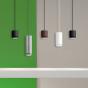 Image 4 of Alcon 12302-P-TGS Cylindrical Anti-Glare Shroud LED Pendant Light