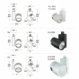 Image 4 of Alcon 13127 Vivid Architectural Monopoint LED Light
