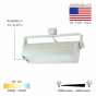 Image 3 of Alcon 13329 Hermitage Wall Wash Architectural LED Track Light