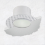 Image 1 of Alcon 14013-L Illusione 4-Inch LED Frosted-Lens Recessed Light