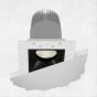 Image 1 of Alcon 14073-DIR Illusione 2.5-Inch Architectural LED Direct Square Recessed Light