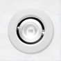 Image 1 of Alcon 14142-R-ADJ Recessed Multiples 1-Inch Miniature LED Adjustable Round Outdoor Light