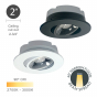Image 2 of Alcon 14144-R-ADJ Adjustable, Recessed 2-Inch LED Downlight