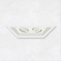 Image 1 of Alcon 14300-2 Oculare 2-Head Multiple Flanged Adjustable LED Recessed Light
