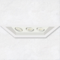 Image 1 of Alcon 14300-3 Oculare 3-Head Multiple Flanged Adjustable LED Recessed Light