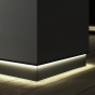 Image 1 of Alcon 15244 Linear Recessed LED Toe Kick Baseboard Light