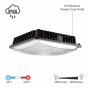 Image 2 of Alcon 16005 10-Inch Square LED Canopy Light